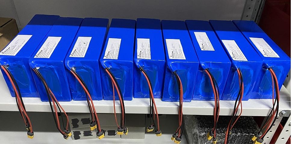 Изготовленные аккумуляторы для электровелосипедов Horza Stels Trike