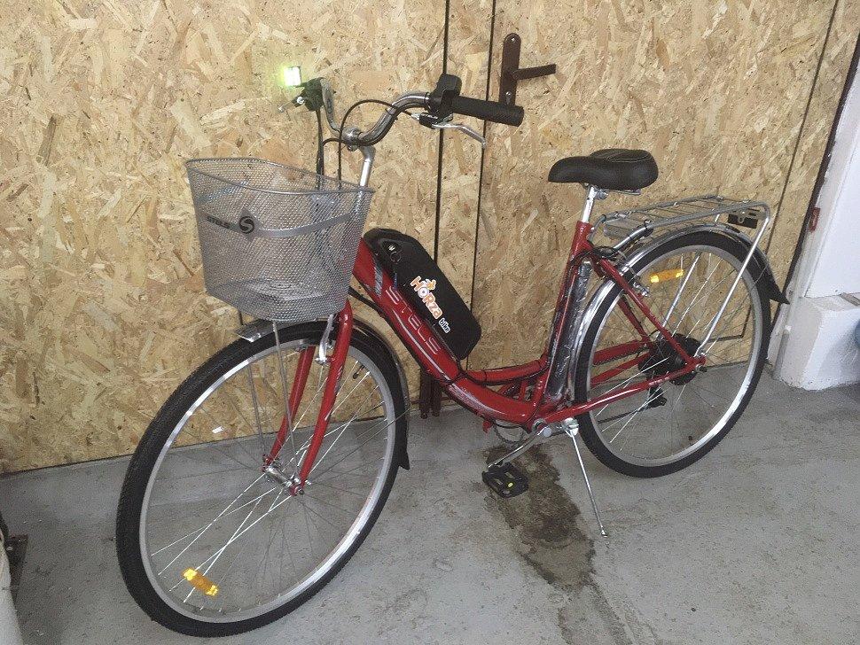 Электровелосипед Horza Stels Dacha v1