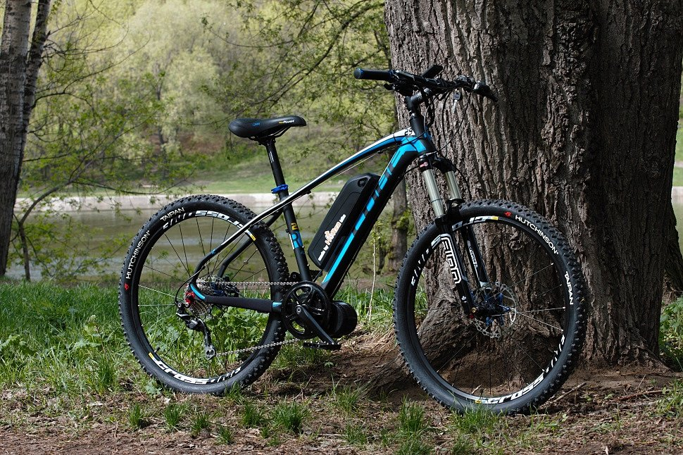 Электровелосипед Horza Cube RCM-D