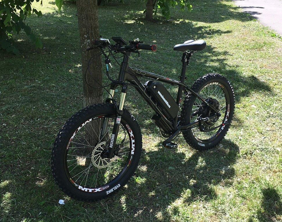 Электровелосипед Horza CUBE LDM-T