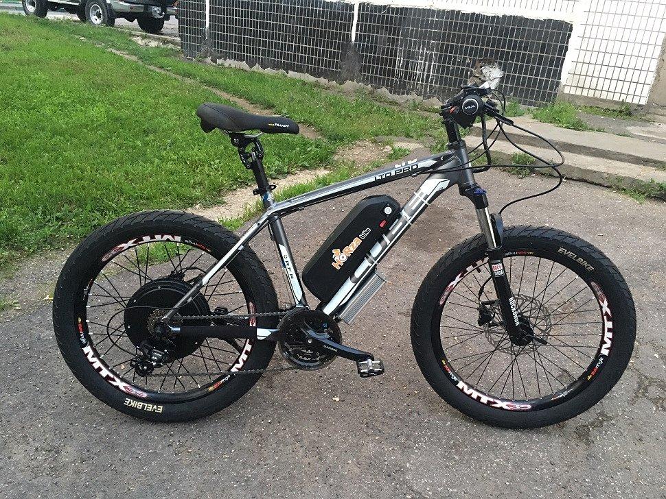 Электровелосипед Horza Cube Sport