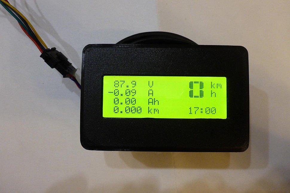 Дисплей Batt Meter
